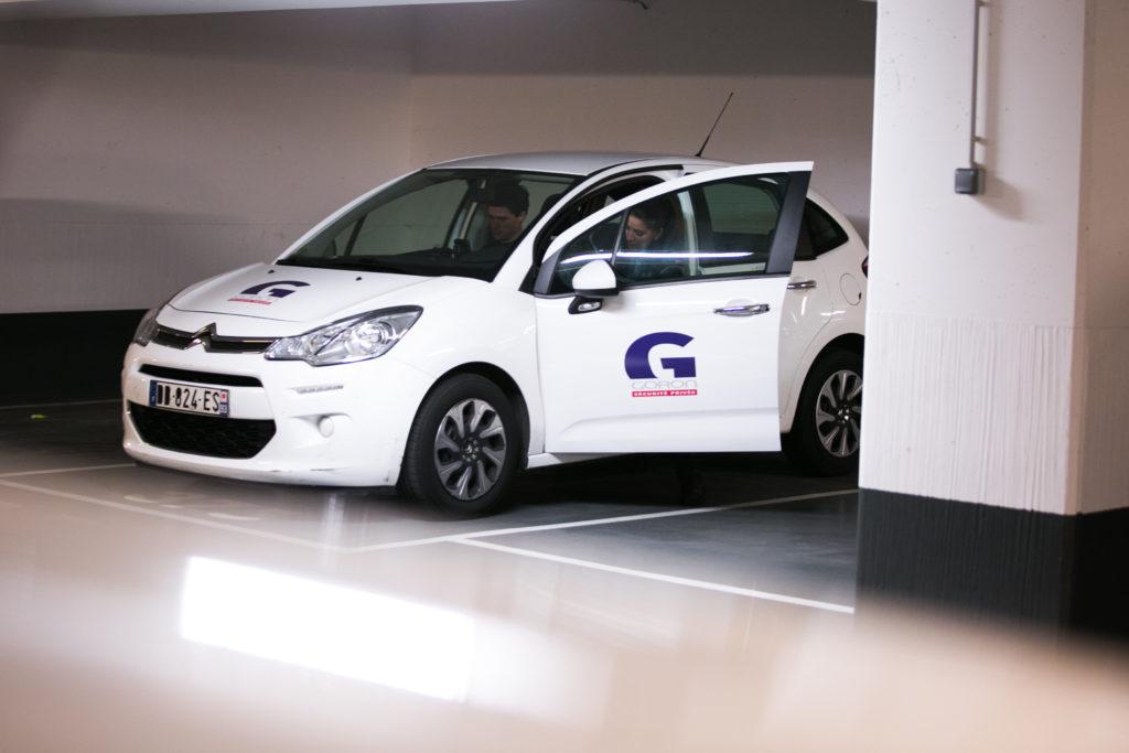 Service de sécurité mobile et intervention sur alarme - Goron S.A