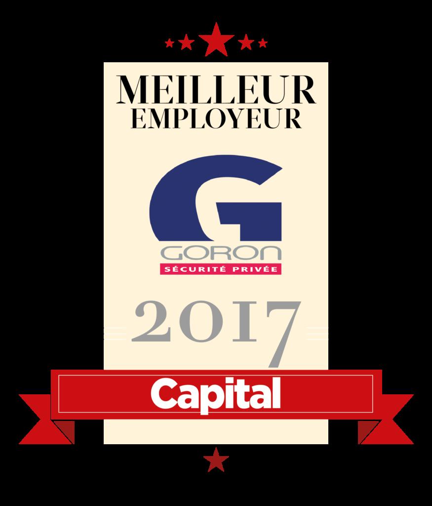 Goron meilleur employeur 2017 capital