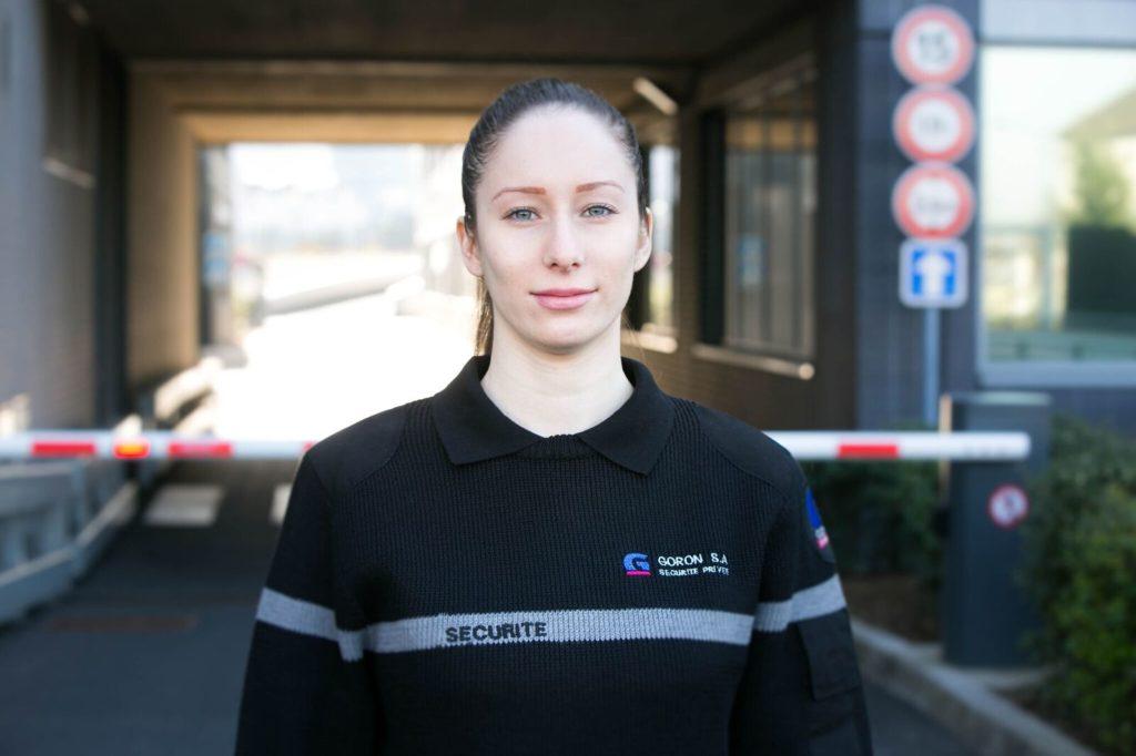 Agent de sécurité féminin- Surveillance-Goron sa