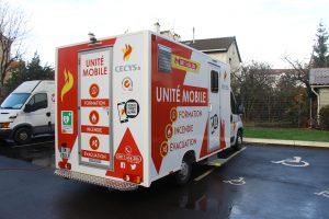 unité mobile formation entreprise