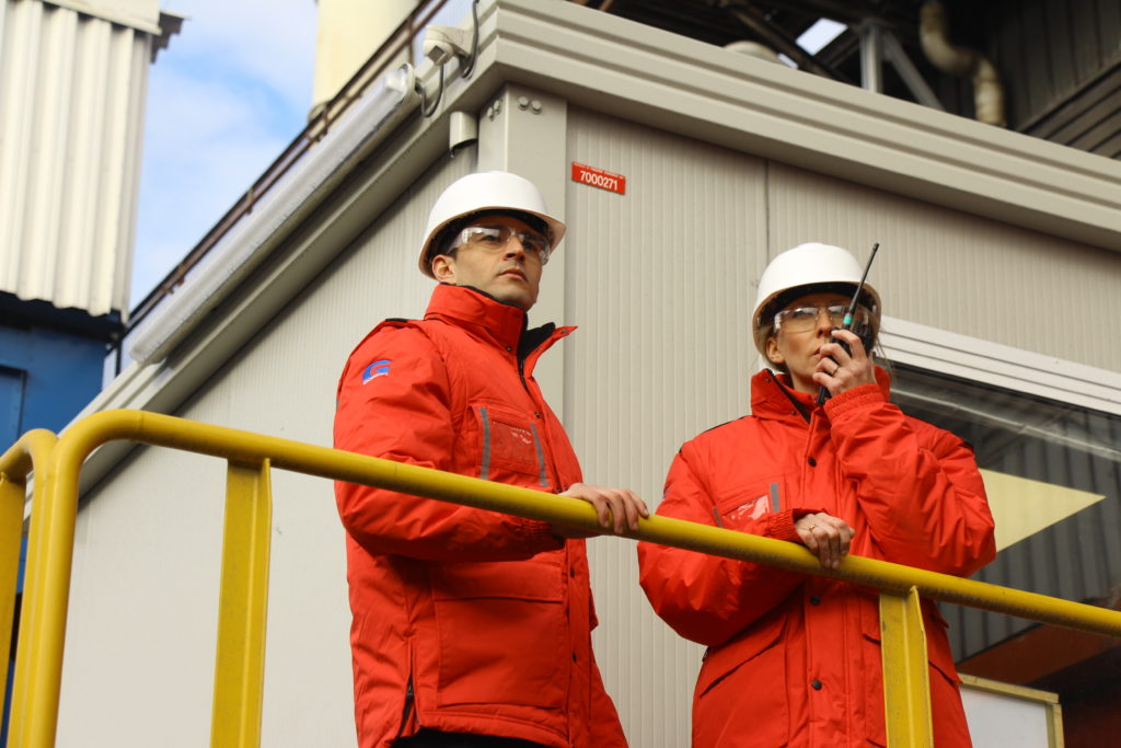 Service de sécurité aux industries - Goron S.A