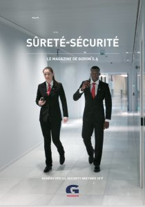 magazine goron sécurité sûreté