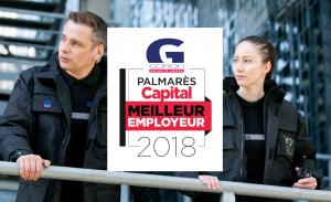 Goron a été nommée Meilleur Employeur de l'année 2018