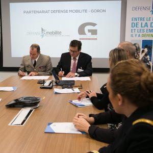 GORON offisalise son partenariat avec le Service Militaire Volontaire pour le recrutement de jeune