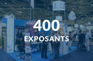 Venez rencontrer les 400 exposants qui seront présents sur le salon Préventica 2018
