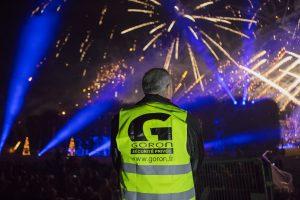 Retour sur la sécurisation par GORON du plus grand feu d'artifice d'Europe au Domaine national de Saint Cloud
