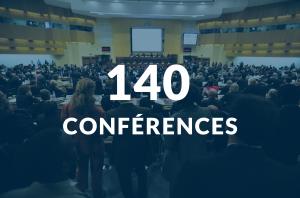 Plus de 140 conférences auront lieu durant le salon