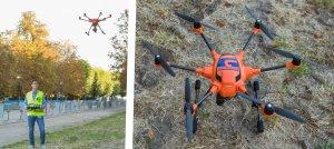 Goron sécurise le plus grand feu d'artifice de Saint Cloud à l'aide de drones de surveillance