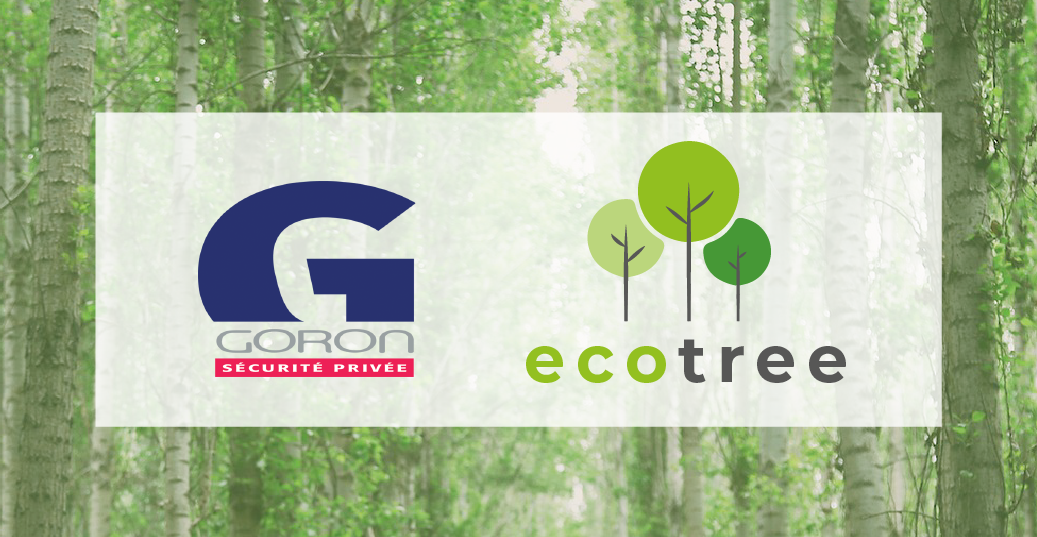 Découvrez le partenariat entre Goron et Ecotree