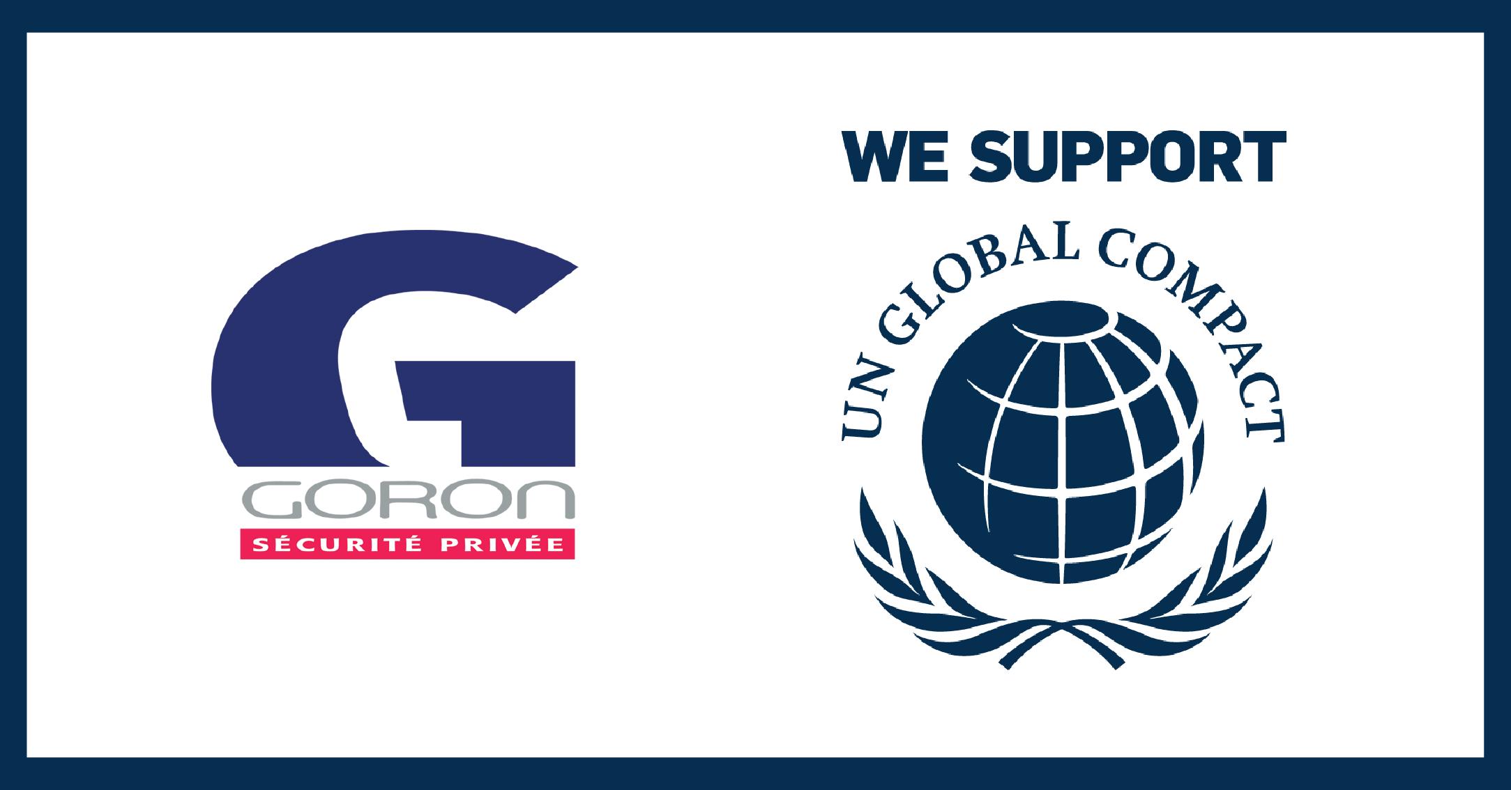 Goron adhère au Global Compact de l'ONU