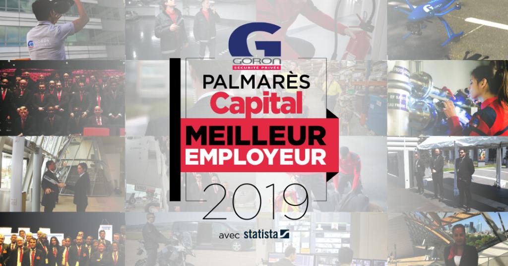 Goron élue meilleur employeur 2019