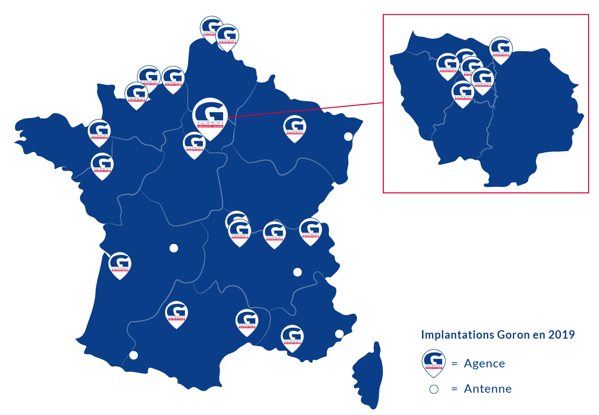 carte des agences
