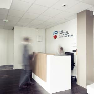 hall d'entrée de l'école supérieure de la sécurité des entreprises