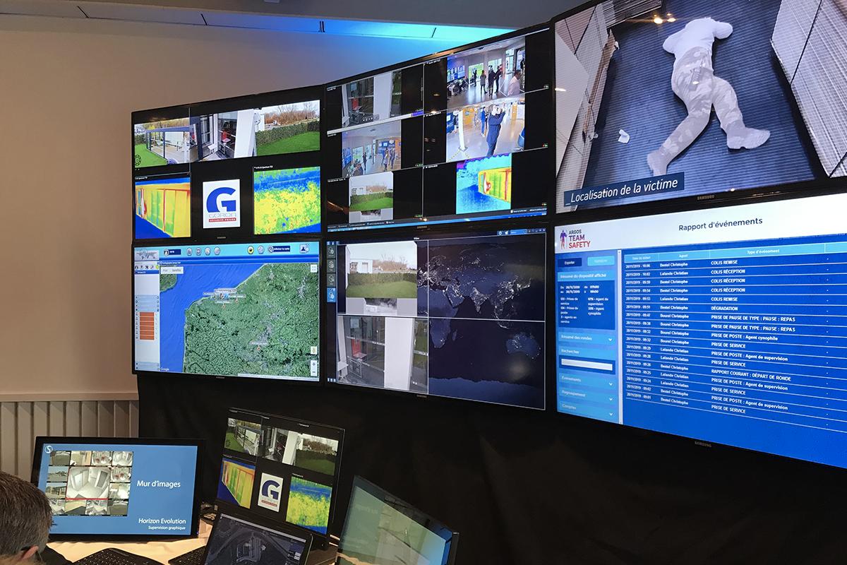 Présentation des systèmes de surveillance Goron